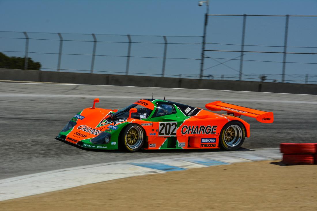 Cam Hutchins: Group 8a RMMR Mazda Laguna Seca &emdash;