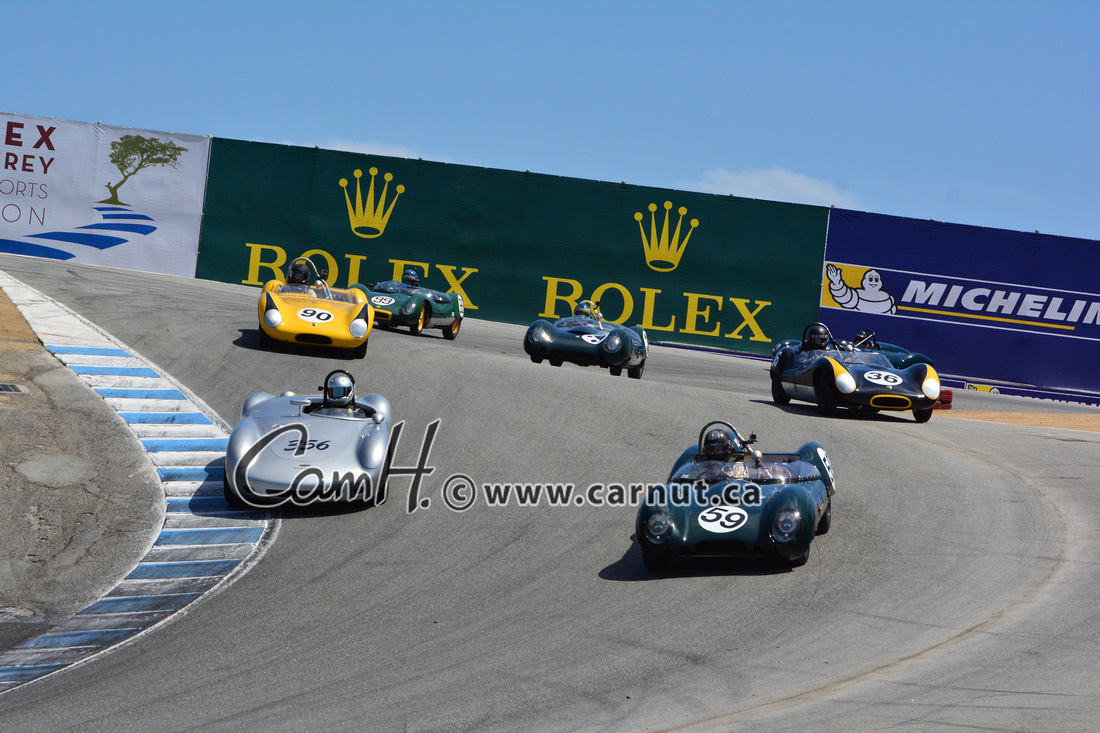 Cam Hutchins: 2015 Rolex Monterey Historic Races Group 3b &emdash;
