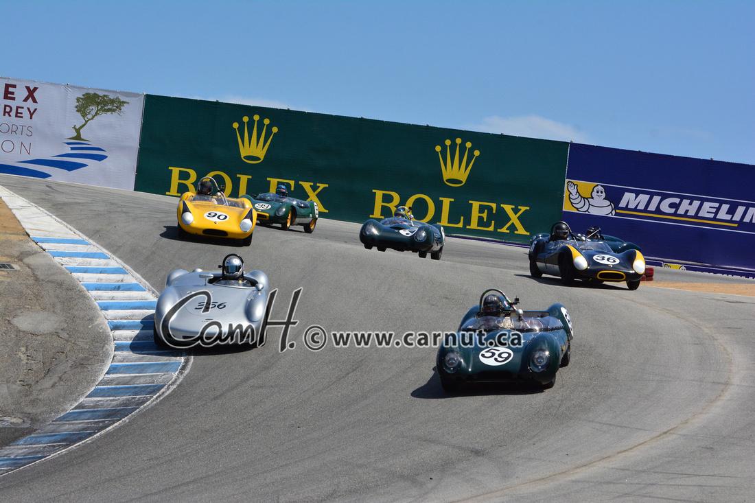 Cam Hutchins: 2015 Rolex Monterey Historic Races Group 3b &emdash;